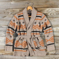 Whiskey Creek Sweater, Sweet Navajo Inspired Clothing