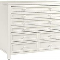 Martha Stewart Living? Craft Space Eight-Drawer Flat-File Cabinet - Craft Tables - Martha Stewart Living? Craft Furniture - Martha Stewart Living? | HomeDecorators.com