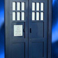 Doctor Who Tardis Door