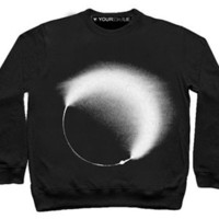 solar black Sweatshirt by Youreyeslie.com Online store Shop the collection