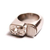 Flamethrower Ring By YourEyesLie - ACCESSORIES Online store Shop the collection