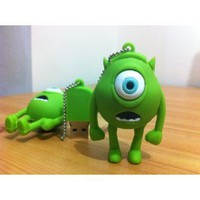 8GB Mini Mike Wazowski USB Flash Drive from MONSTER INC Funny Memory Stick: Computers & Accessories