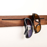 i wear rack  eyewear storage device by boardbydesign on Etsy