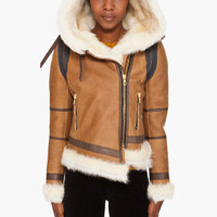 Rag & Bone Shoreditch Shearling Jacket for women