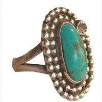 Vintage Oval Shaped Ring