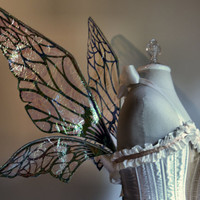 Fairy Wings Wedding Halloween Costume Faerie by WhimsyEverlasting
