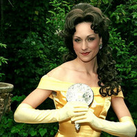 Belle Version I Adult Costume Dress Gown by Bbeauty79 on Etsy
