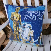 Star Wars Pillow Case New Hope R2-D2 C-3PO