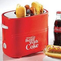 Coca-Cola Hot Dog Toaster: Things Go Better with Coke Kitchen Cooking Device: Kitchen &amp; Dining