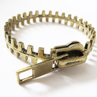 Zipper Bangle from lovesparklandco