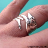 925 Greyhound dog ring  Solid sterling silver ring by RingRingRing