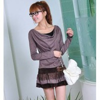 The Newest Fashion Style Sweety Hollow Laciness Dress 