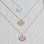 Heart Monogram Necklace