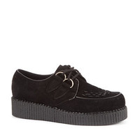 Black Loiter Brothel Creepers