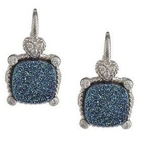 Judith Ripka Sterling Drusy Earrings - QVC.com