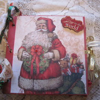 Santa Mini Album, Christmas Photo Album
