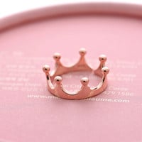 simple TIARA ring, in sterling silver | girlsluv.it