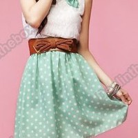Polka Dot Dress (FREE SHIPPING)