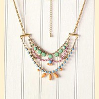 St. Germain Statement Necklace                       - Francescas