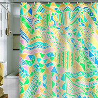 DENY Designs Home Accessories | Lisa Argyropoulos Wild One Two Shower Curtain