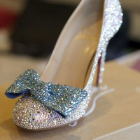 Crystal/strassing services ~ Get your PERFECT Cinderella Shoes for a LOT less!  Weddingbee Classifieds