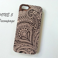 Thai Pattern  iPhone 5 Case  Floral iPhone 5 Case  by AdaFashion