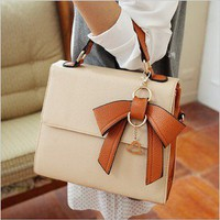 Dimensional bow handbag 4 color xb0013