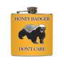 LSU Tigers Honey Badger Flask Louisiana State by LiquidCourage