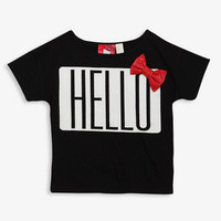 Hello Kitty® Bow Tee | FOREVER 21 - 2030188079