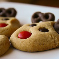 Ho-Ho-Holidays / reindeer cookies-so cute!