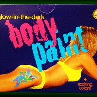 Glow In The Dark Body Paint Kit