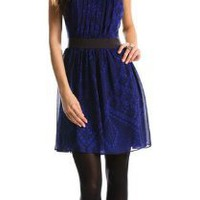 Colorblock Mini Dress - Dresses - Womens - Armani Exchange