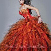 Perfect ball gowns sweetheart neck floor-length quincenera dresses Bella Sera 3910,Quinceanera Dresses