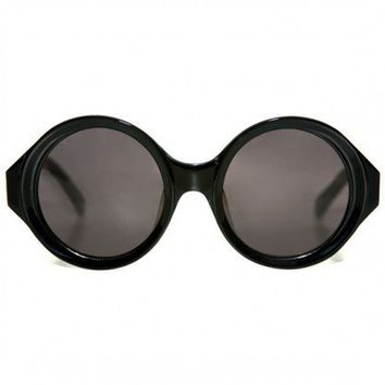 Karen Walker Eyewear - NUMBER SIX Black at Gargyle