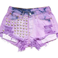 Levi high waist shorts S by deathdiscolovesyou on Etsy