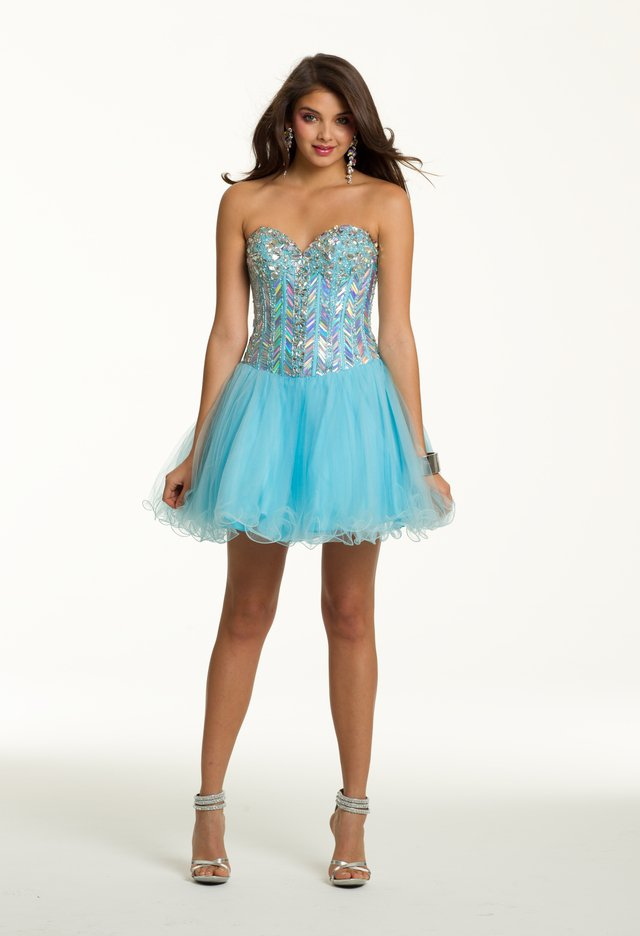 Prom Dresses 2013 - Short Tulle Dress from Camille La Vie - photo #22