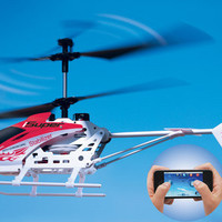 iPhone/iPad Remote Controlled Helicopter  @ Sharper Image