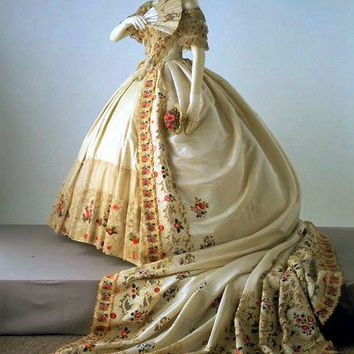19th century fashion victorian wedding from for 19th century wedding dresses