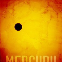 The Planet Mercury, Art Prints by Michael Tompsett - Shop Canvas and Framed Wall Art Prints at Imagekind.com