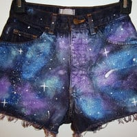 Galaxy Shorts MADE TO ORDER