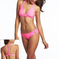 Candie&#x27;s Solid Swim Separates