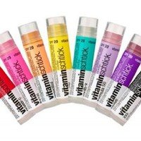 (3 Pack) Vitamin Water Vitaminwater Vitaminschtick Flavored Lip Gloss Revive Fruit Punch (Purple Co
