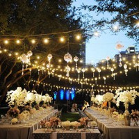 Lighting Ideas for an Outdoor Wedding - Boho Weddings™