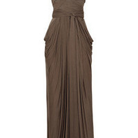 Amanda Wakeley Bandage crepe and jersey gown - 65% Off Now at THE OUTNET