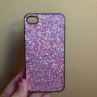 Light Pink Glitter Iphone 4/4s Case