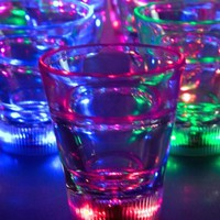 Light Up Multicolor LED Shot Glass
