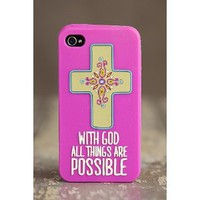 Amazon.com: Natural Life Iphone 4/4s Case - With God: Cell Phones & Accessories