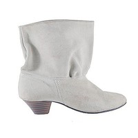 Cream Short Bootie