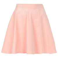 Pink Baby Cord Skater Skirt - Skirts  - Clothing