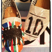 One Direction Custom Toms